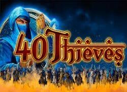 40 Thieves Slot Logo