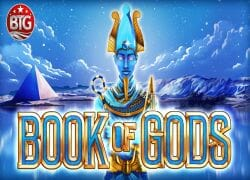 Book of Gods Slot Logo