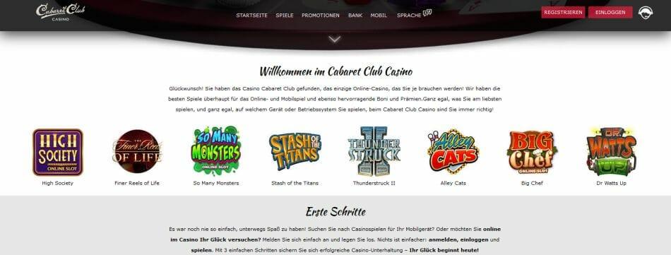 Cabaret Club Casino Vorschau