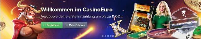 Casino Euro Startguthaben