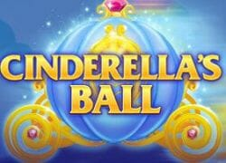 Cinderellas Ball Slot Logo