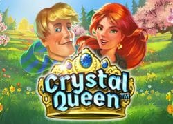 Crystal Queen Slot Logo