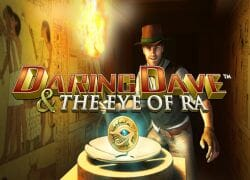 Daring Dave Eye of Ra Slot Logo