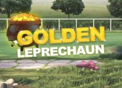 Golden Leprechaun Slot Logo