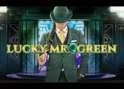 Lucky Mr. Green Slot Logo