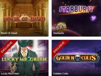 Mr. Green Spiele