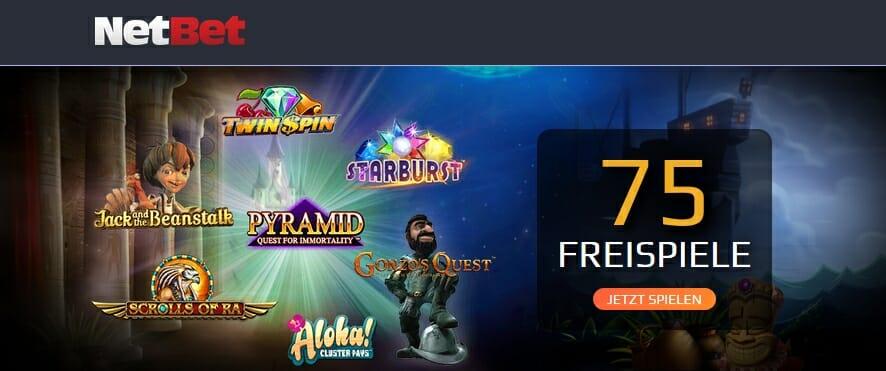 NetBet Casino Freispiele