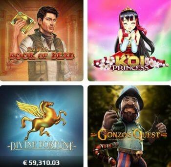 NetBet Casino Spiele