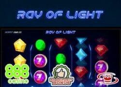 Ray of Light Slot Logo