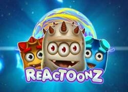 Reactoonz Slot Logo