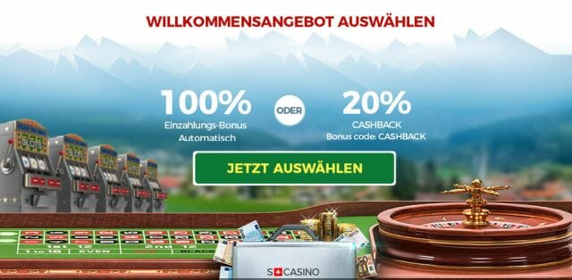 Swiss Casino Bonusangebote