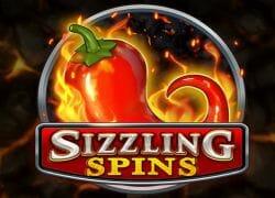 Sizzling Spins Slot Logo
