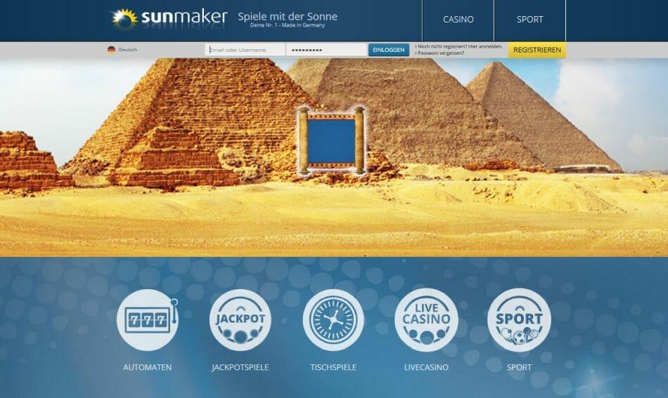 Sunmaker Casino Vorschau