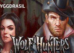 Wolf Hunters Slot Logo